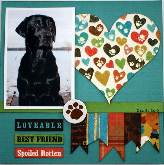 scrapbook layout - 1 | http://scrapbookphotos.blogspot.com
