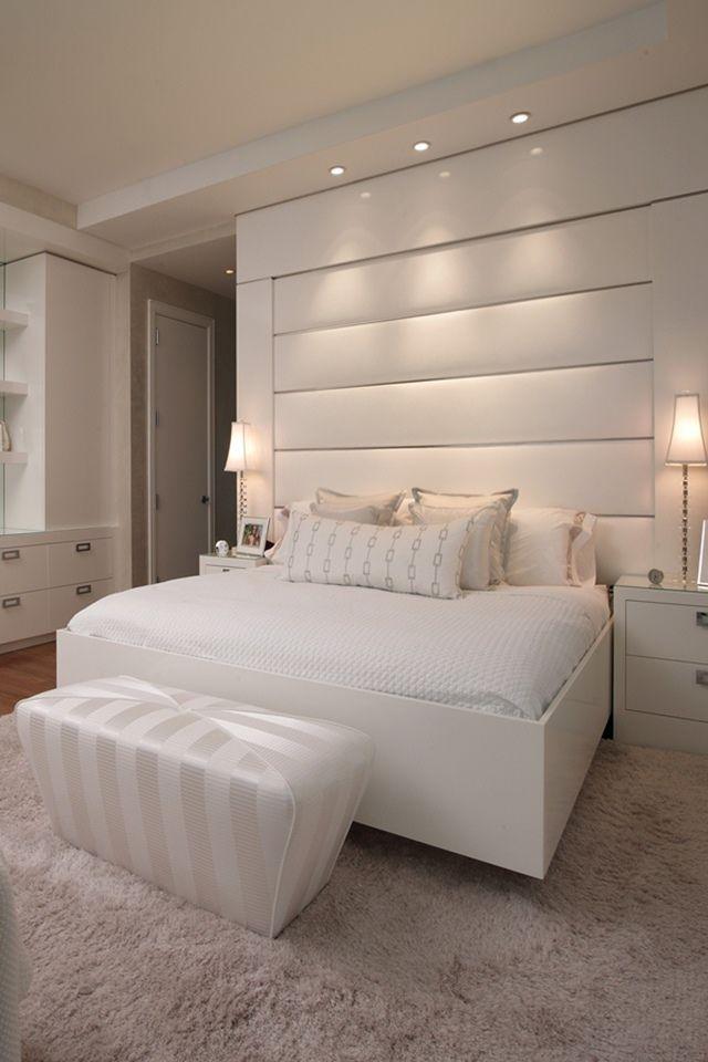 Pepe Calderin // white bedroom