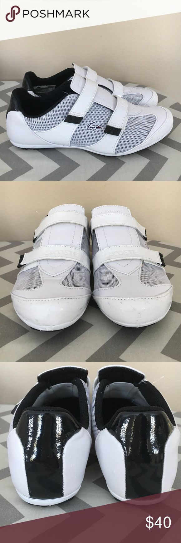 Lacoste Sneakers for women 💚 New without tags! Some scuff marks, see pictures. Lacoste Shoes Sneakers