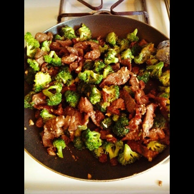 I made something epic for dinner last night.  And I swear, my stomach just growled in thinking about it.   Don't over cook the broccoli! ...