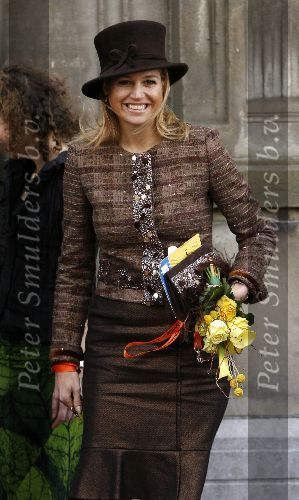 Another of Queen Maxima''s imaginative outfits