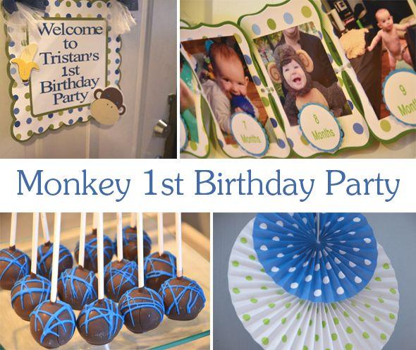 monkey-first-birthday-ideas