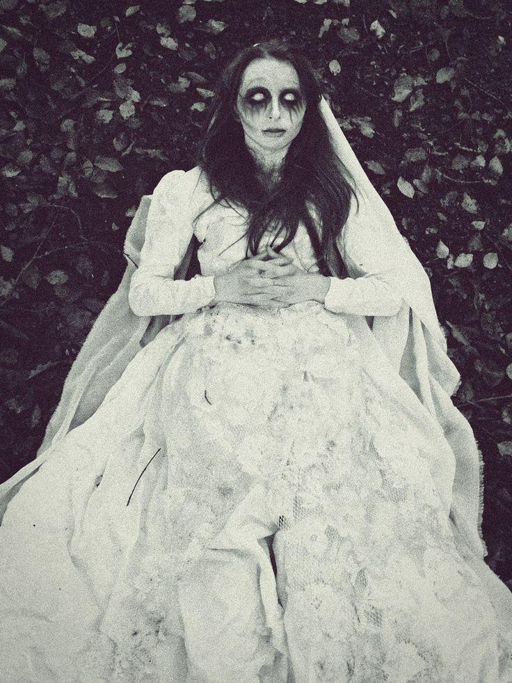 Ghost/demon bride costume