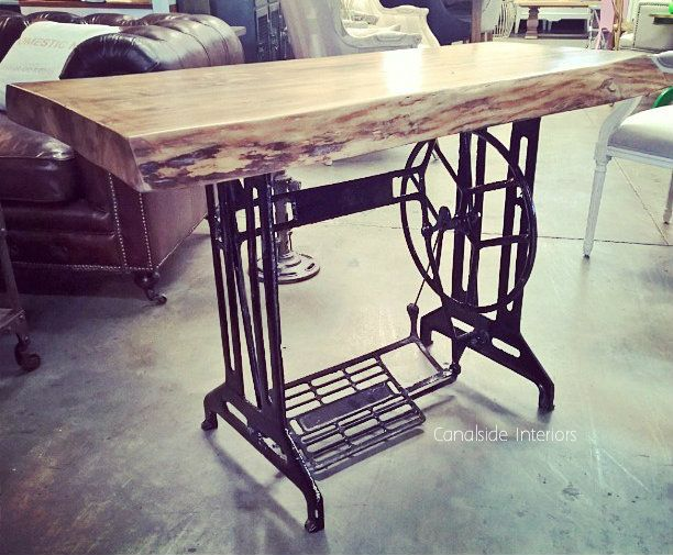Thread Industrial Table / Desk - Canalside Interiors