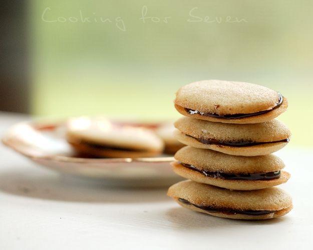 Homemade Milan Cookies. | Desserts | Pinterest