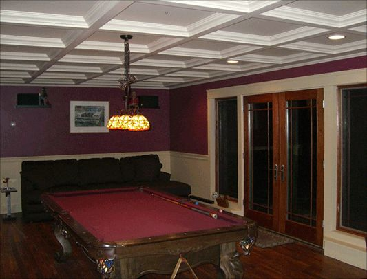 Basement Suspended Ceiling
