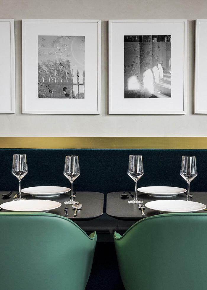 Le restaurant I Love Paris pour Le chef Guy Martin par India Mahdavi