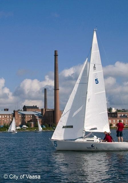 Sailing @ Vaasa. www.visitvaasa.fi. Photo: Jaakko J Salo