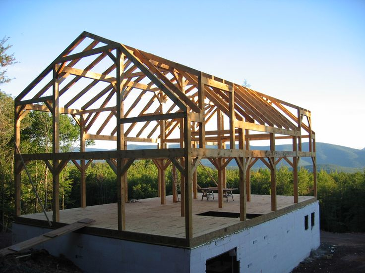 Structural Design Post And Lintel Timber Frame Homes