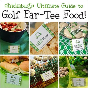 I've filled orders for quite a fewgolf theme birthday partiesover the years, and I'm always impressed by the cute puns thatmy customerscome up with for their party foods! But, even though many of those parties arefeatured here on my blog, I realized there's no single ...
