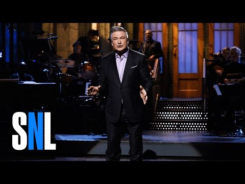 Alec Baldwin's 17th Time Monologue - SNL - YouTube