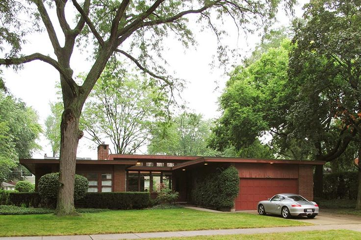 Vintage ranch homes in chicago area