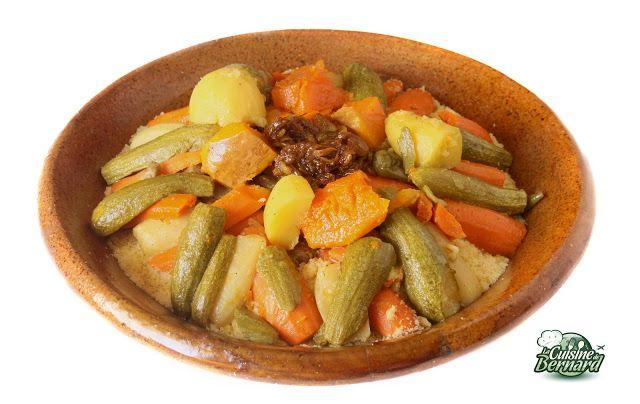 La Cuisine de Bernard : Le Couscous Berbère