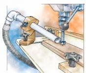 Saugrohr-Positioniervorrichtung  #Holzhandwerk  Saugrohr-Positioniervorrichtung