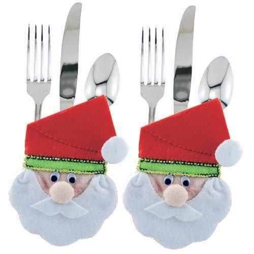 Molde para hacer porta cubiertos navideños3