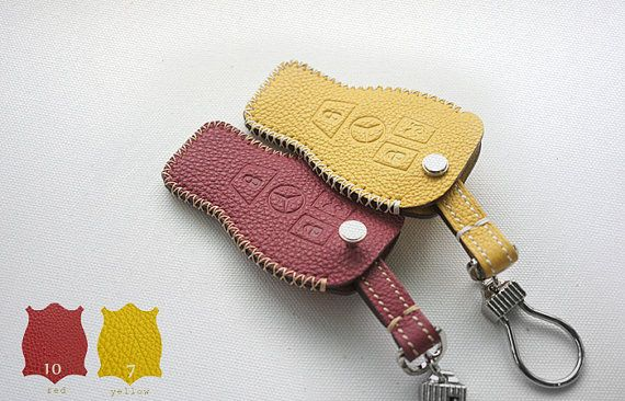 Handmade Mercedes Benz S,E,C 63AMG Remote key chain cover fob case