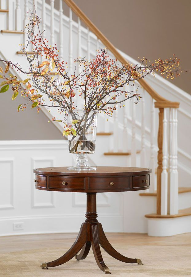 Foyer Table Ethan Allen : A simple statement for the entryway u t m n