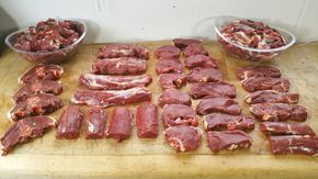 How To Butcher A Deer At Home.This is the MOST detailed video on. How To Butcher A Deer.Filmed up-close.This Deer is Butchered a little different to really m...