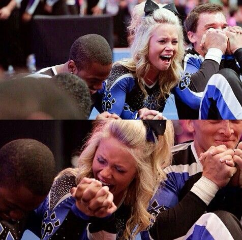 Cheer Athletics Wildcats winning Worlds 2014 || photo of Carly Manning by Andrew Knowles / AJK Images