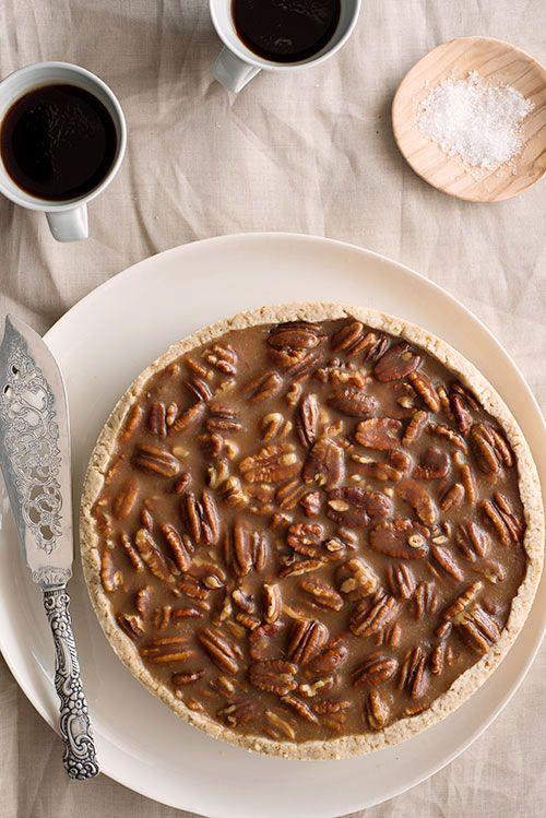 Ellise Pierce's Pecan Salty Caramel Tart.