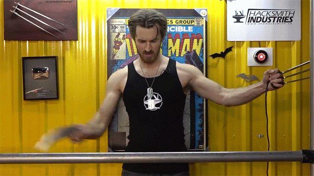 Say NO to racism and discrimination in the Cosplay: Las Garras de Wolverine electrificadas