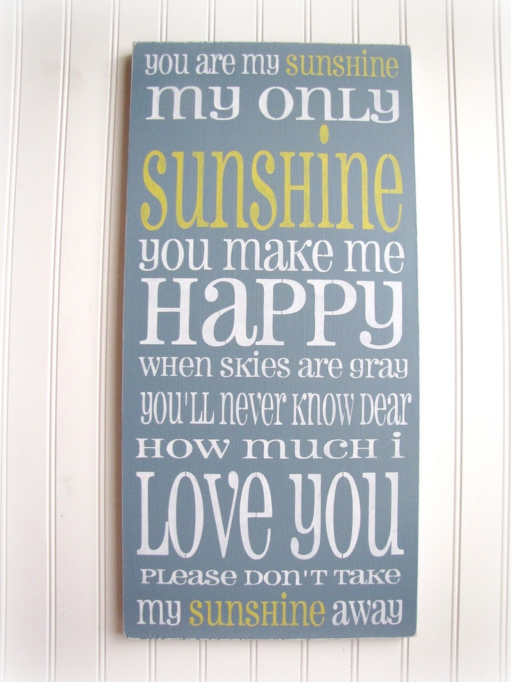 Love this! : Ideas, Kids Room, Songs, Baby Room, Sunshine, You Are, Boy