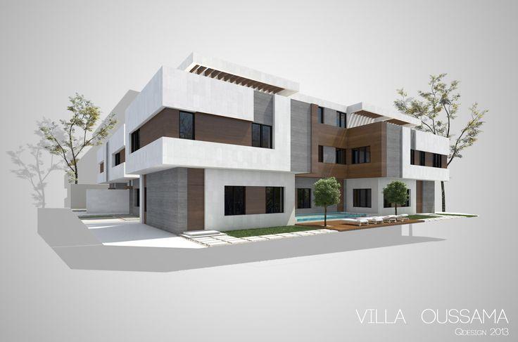 Villa Oussama - Back View