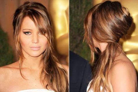Risultati immagini per capelli semi raccolti morbidi
