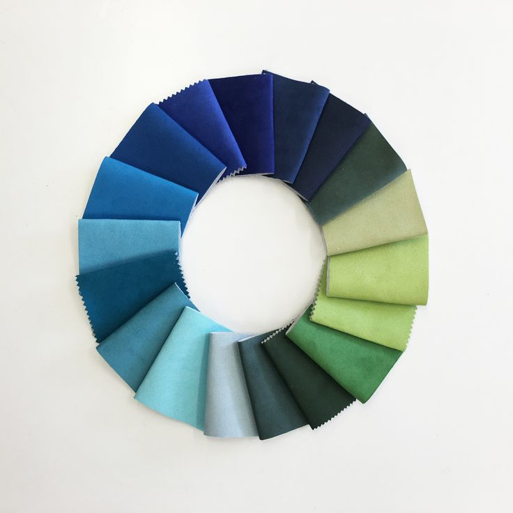 BLUE & GREEN // A selection from our Global Soft and Global Suede qualities. / colour inspiration / fabric textiles