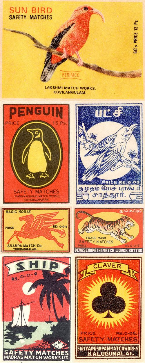 -Animal Illustrations, Pin Today, Vintage Matchbox, Matchbox Collection, Matchbox Design, Vintage Design, Random Pin, Matchbox Covers, Matchbook Art