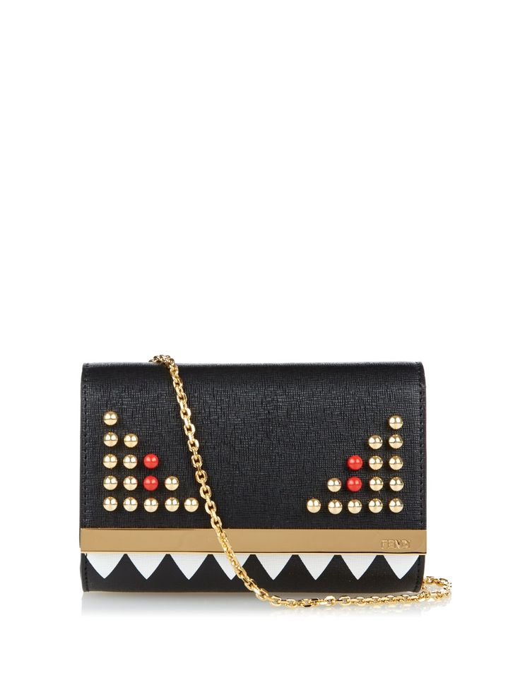Sold out :((( knew I should have bought it when I had the chance - Fendi Bag Bugs clutch