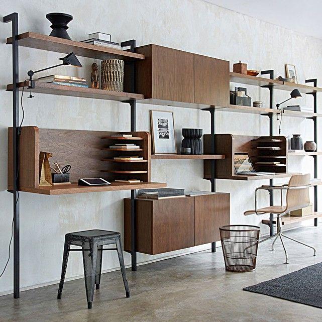 Montant Taktik Pour Systeme De Rangement Meuble Maison Mobilier De Salon Dressing Modulable