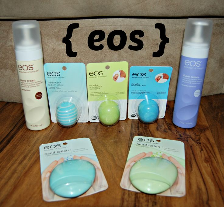 Give the gift of indulgence without any guilt. With sweet lip balms, luscious shave creams and soft and silky hand and body lotions, eos is my top choice!