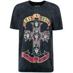 Boohoo Layla Tonal Guns 'N' Roses Oversized Washed Band Tee | Boohoo