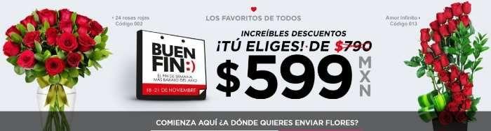Ofertas del Buen Fin 2016 en Enviaflores.com