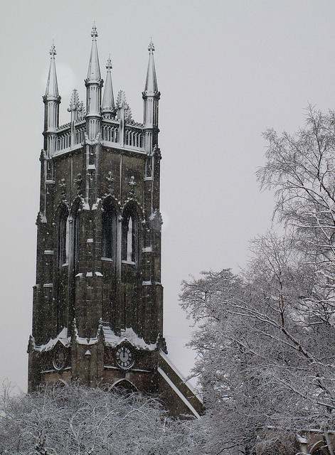 churches winter scenes | Recent Photos The Commons Getty Collection Galleries World Map App ...: Winter Scene, Church Winter, Photo