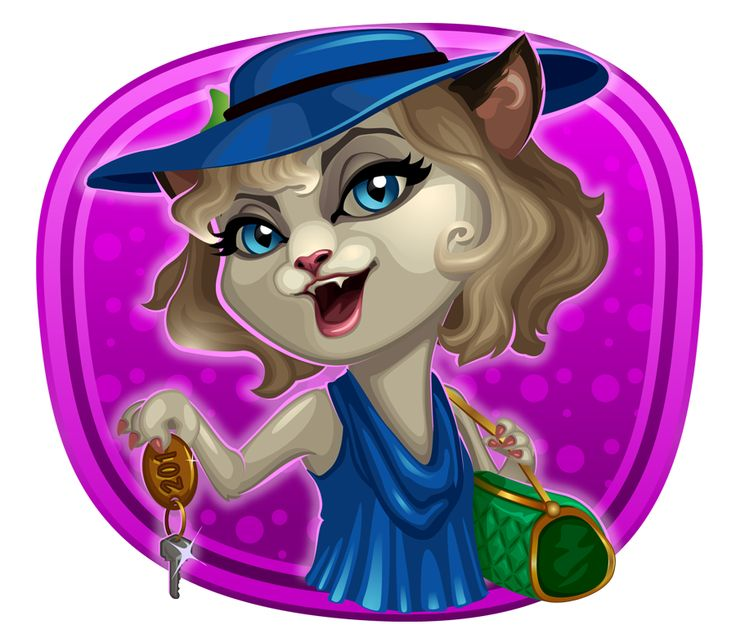 Kitty Cabana video slot is available for #play at the casino