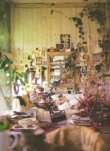 garden rooms by matirose, via Flickr