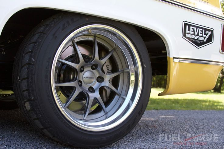 """Our friends at """"Fuel Curve"""" have published a great feature article on Level 7 Motorsports' awesome #protouring truck! Their 1978 #Chevy #C10 """"LSM Shop Truck"""" is powered by a #supercharged LSA with Holley EFI mated to a 6-speed T56 Magnum transmission and rides on a custom Level 7 Motorsports 4-link rear suspension, RideTech front suspension, RideTech coilovers, Wilwood disc brakes, Falken Azenis tires, and 18-inch #Forgeline #GA3 wheels finished with Gunmetal centers & Polished outers!"""