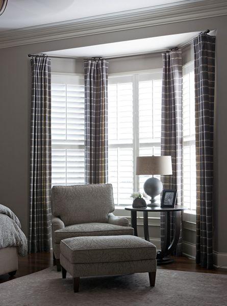 Bedroom Bay Window Curtains Beth Haley Ribbit Pinterest