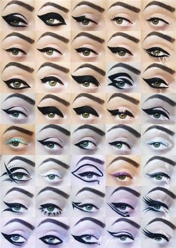 eyeliner - Click image to find more Hair & Beauty Pinterest pins