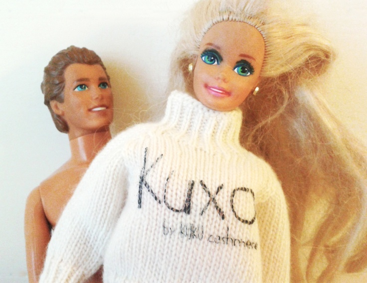 Barbie + Ken + Kuxo' www.kuxo.it