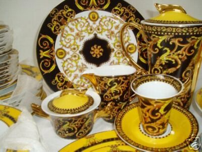 Rick Ross Shows Off Versace Dining Set Complex . & Versace Dining Table 8 Chairs Versace Berenice Dining Table Versace ...