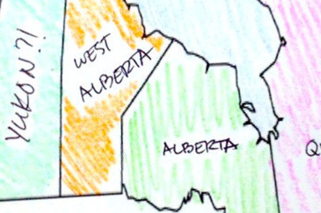 Here's What Happens When Americans Try To Label The Country Of Canada | this is painful to read