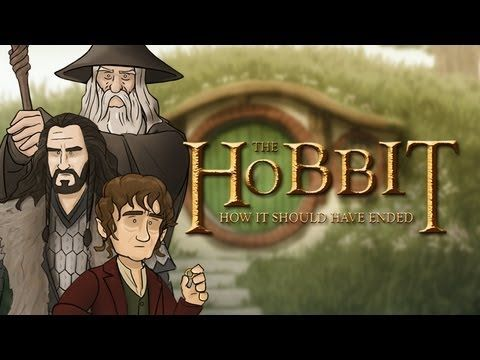How The Hobbit Should Have Ended. Hilarious video, but I'm glad it didn't end that way.