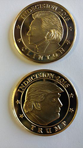 Trump Vs Clinton Indecision 2016 Coin 39mm Brass https://www.safetygearhq.com/product/trending-products/election-day-suits-gadgets/trump-vs-clinton-indecision-2016-coin-39mm-brass/