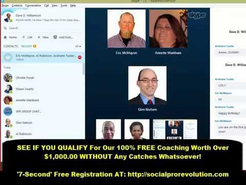 Social Pro Free Coaching Movement - Glen Demonstrates How To Convert Any Lead Into A Sale At 80-87% - YouTube