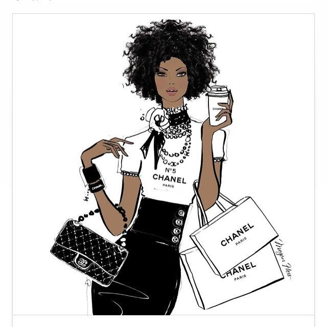 #chanel #pearls #flowers #iconic #quiltedbags #chains #lattes #coffee #shop #shopping #glam #chic #frenchchic #drawing #fashion
