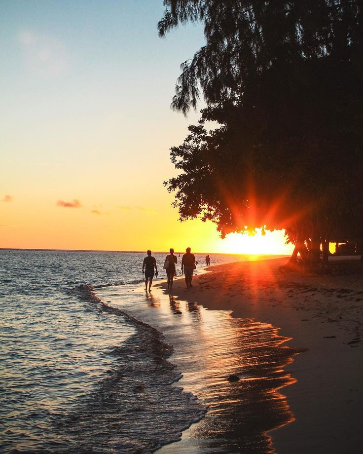 It's not just in movies where you walk off into the sunset  #mauritius #adventure #sunsetsnap