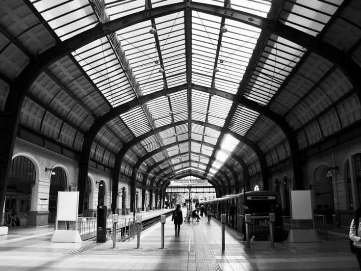 VISIT GREECE Piraeus Train Station, #Piraeus #Greece #travel